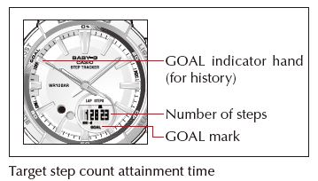 QW-5520 Target step count attainment time